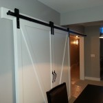 Large Conference Room Barn Door with Goldberg Brothers barn door hardware