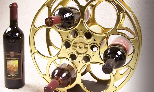 Film Reel Wine Racks | Goldberg Brothers