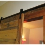 Goldberg Brothers Barn Door hardware sliding track and ledger