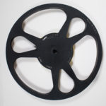 small steel film reel